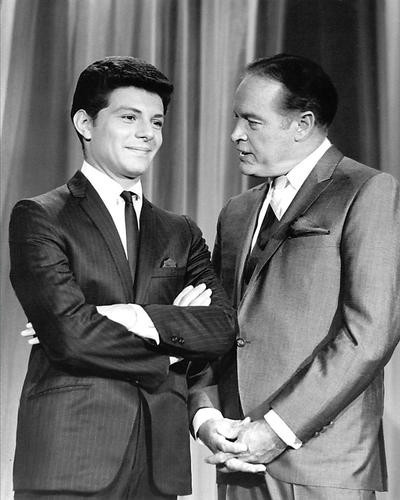 This is an image of 192762 Frankie Avalon and Bob Hope Photograph & Poster