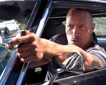 This is an image of 283227 Dwayne Johnson Photograph & Poster