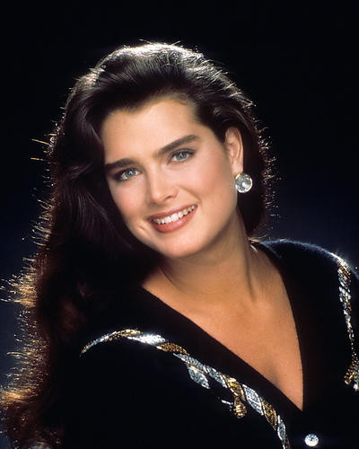 This is an image of 283118 Brooke Shields Photograph & Poster