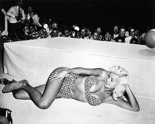 This is an image of 193404 Jayne Mansfield Photograph & Poster