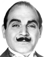 This is an image of 193314 David Suchet Photograph & Poster