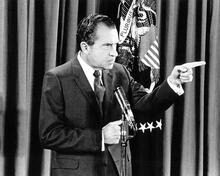 This is an image of 193316 Richard Nixon Photograph & Poster
