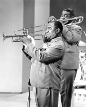 This is an image of 193357 Louis Armstrong Photograph & Poster
