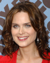 This is an image of 283425 Emily Deschanel Photograph & Poster