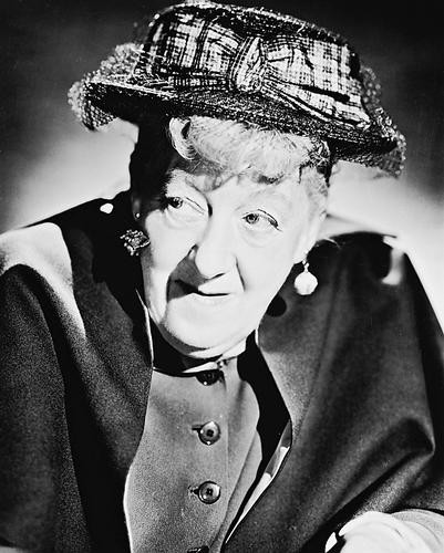 This is an image of 170511 Margaret Rutherford Photograph & Poster
