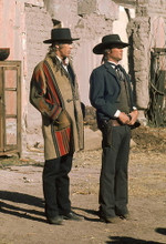 This is an image of 266122 Pat Garrett & Billy the Kid Photograph & Poster