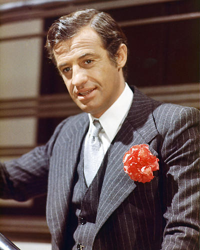This is an image of 233528 Jean-Paul Belmondo Photograph & Poster