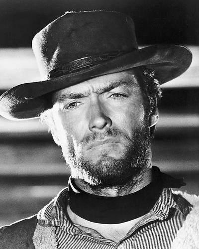 This is an image of 186002 Clint Eastwood Photograph & Poster