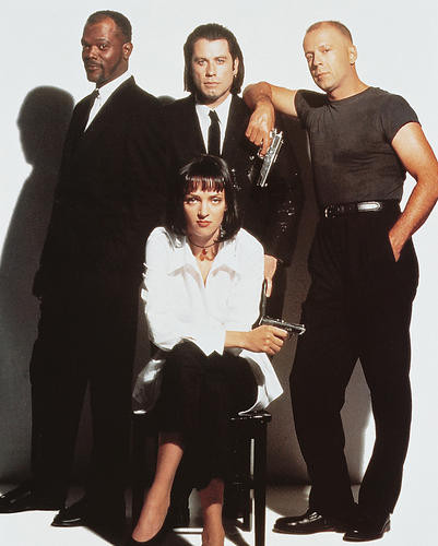This is an image of 216250 Pulp Fiction Photograph & Poster