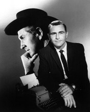This is an image of 194514 Rod Serling Photograph & Poster