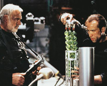 This is an image of 219978 Sean Connery & Nicolas Cage Photograph & Poster