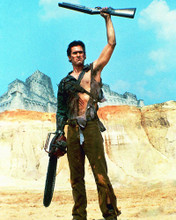 This is an image of 221026 Bruce Campbell Photograph & Poster
