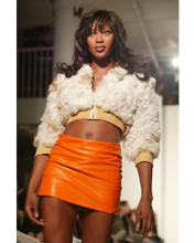 This is an image of 255511 Naomi Campbell Photograph & Poster
