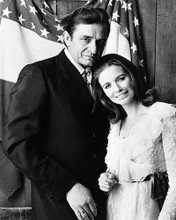 This is an image of 186478 Johnny Cash and June Photograph & Poster