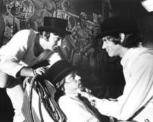This is an image of 187846 A Clockwork Orange Photograph & Poster