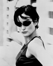 This is an image of 170012 Carrie-Anne Moss Photograph & Poster