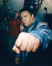 This is an image of 246346 Muhammad Ali Photograph & Poster