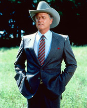 This is an image of 248168 Larry Hagman Photograph & Poster