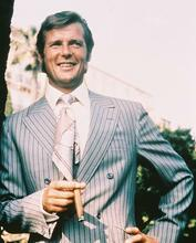 This is an image of 248500 Roger Moore Photograph & Poster