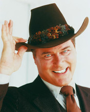 This is an image of 249073 Larry Hagman Photograph & Poster
