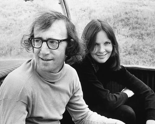 This is an image of 171069 Woody Allen & Diane Keaton Photograph & Poster