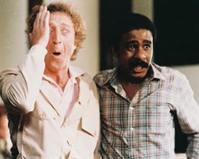 This is an image of 239822 Gene Wilder & Richard Pryor Photograph & Poster
