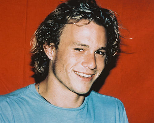This is an image of 244899 Heath Ledger Photograph & Poster