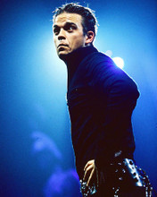 This is an image of 251398 Robbie Williams Photograph & Poster
