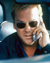 This is an image of 252158 Kiefer Sutherland Photograph & Poster