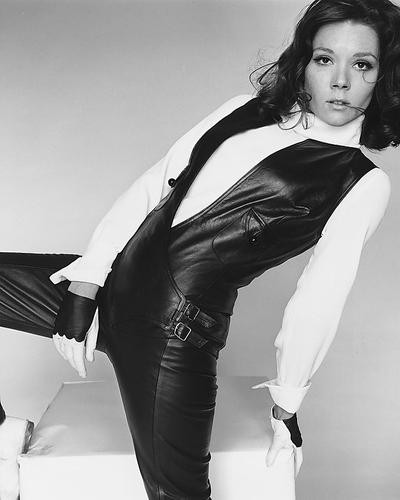 This is an image of 172119 Diana Rigg Photograph & Poster
