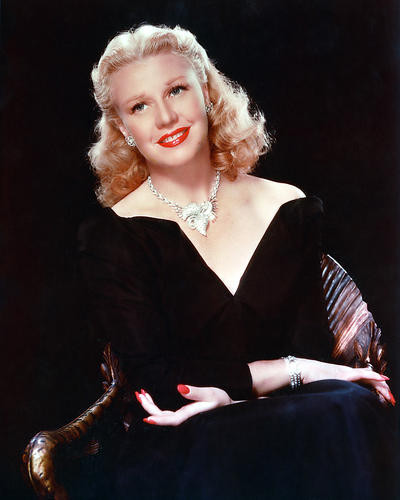 This is an image of 256260 Ginger Rogers Photograph & Poster