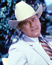 This is an image of 257240 Larry Hagman Photograph & Poster
