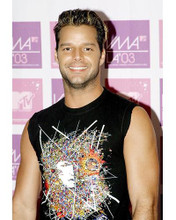 This is an image of 257325 Ricky Martin Photograph & Poster