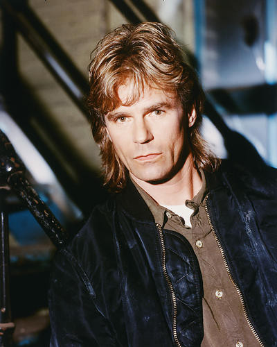 This is an image of 257749 Richard Dean Anderson Photograph & Poster
