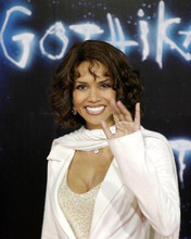 This is an image of 258410 Halle Berry Photograph & Poster