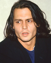 This is an image of 261168 Johnny Depp Photograph & Poster