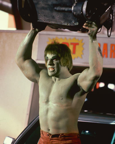 This is an image of 263109 Lou Ferrigno Photograph & Poster
