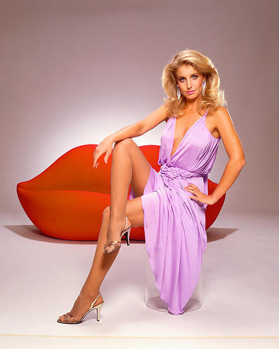 This is an image of 263393 Heather Thomas Premium Photograph & Poster