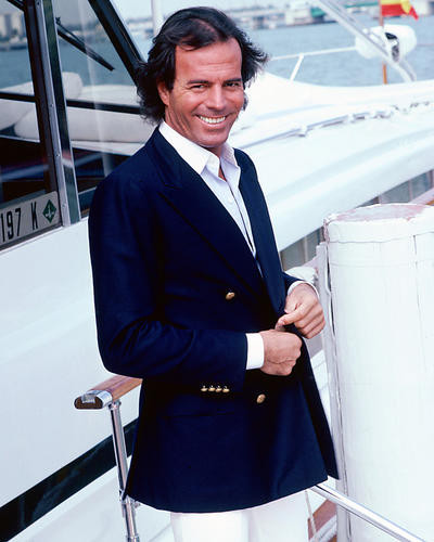 This is an image of 264602 Julio Iglesias Premium Photograph & Poster