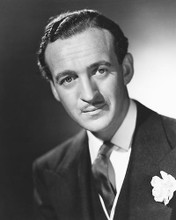 This is an image of 178317 David Niven Photograph & Poster