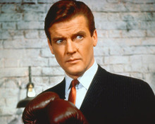 This is an image of 250342 Roger Moore Photograph & Poster