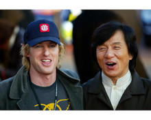 This is an image of 254760 Jackie Chan & Owen Wilson Photograph & Poster