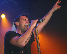This is an image of 255818 Robbie Williams Photograph & Poster