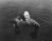 This is an image of 258464 The Creature from the Black Lagoon Photograph & Poster