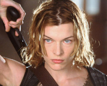 This is an image of 259048 Milla Jovovich Photograph & Poster