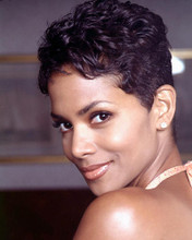 This is an image of 265890 Halle Berry Photograph & Poster