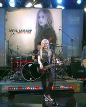 This is an image of 266054 Avril Lavigne Photograph & Poster