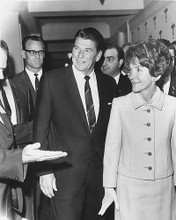 This is an image of 179342 Ronald and Nancy Reagan Photograph & Poster