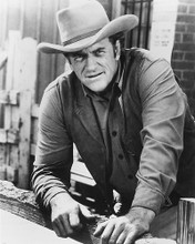 This is an image of 179427 James Arness Photograph & Poster