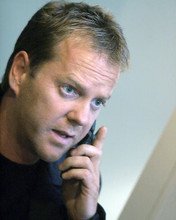 This is an image of 268093 Kiefer Sutherland Photograph & Poster